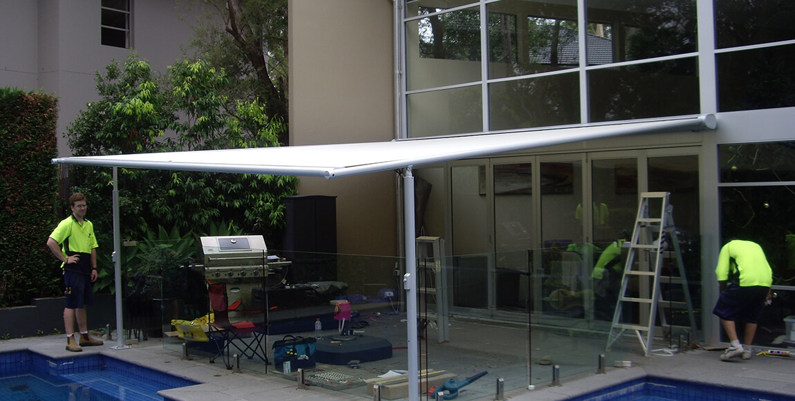 Markilux Roof Festoon Awnings Sydney Sunteca